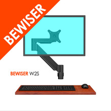 vesa wall mount monitor stand/extra long arm lcd wall mount