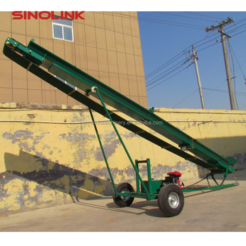 ATV Towable Movable Conveyor Transporter for wood firewood