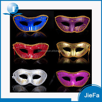 Custom Wholesale LED Light up Party Mask Masquerade Masks