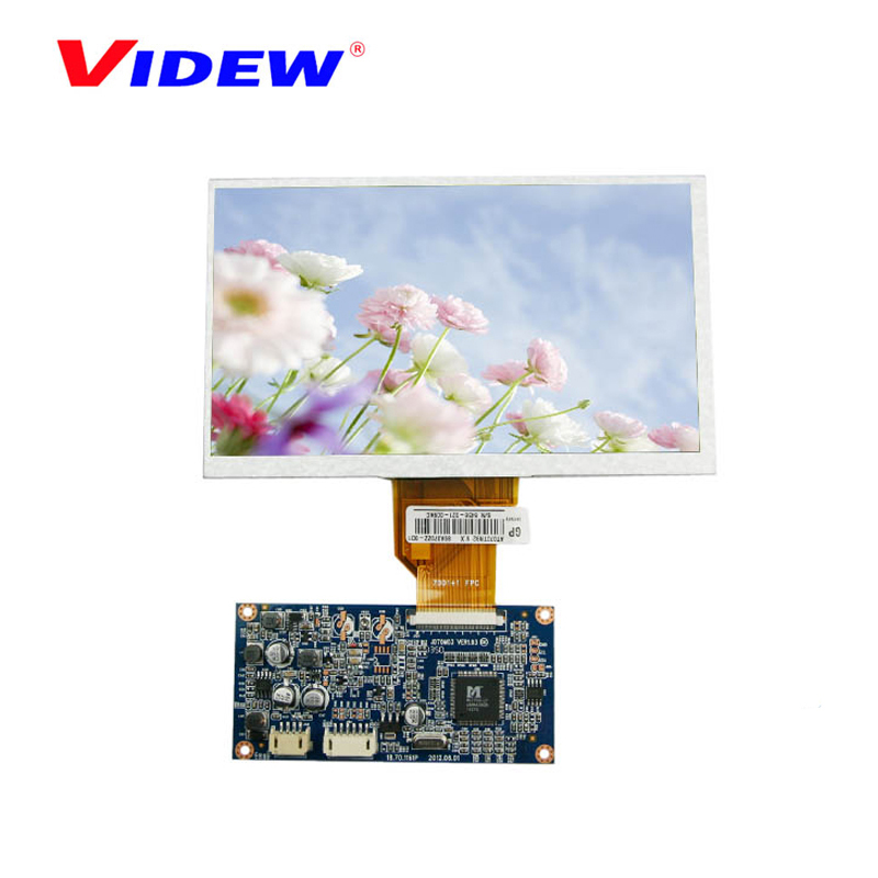 "China Manufacturer OEM signal input at 16:9 ratio 6.2"" 6.8"" inch tft lcd monitor"