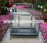 Hot Sale Welded Wire Folding XL Dog Crate With Plastic Tray