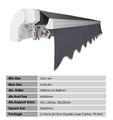Hot sell roof canopy awning of Promotional Retractable Awnings S1000