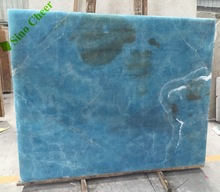 blue white onyx Marble Slabs&Tiles, China white Marble