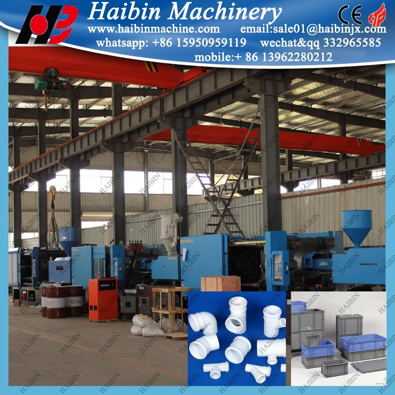 plastic crate basket preform 300 ton plastic injection molding machine
