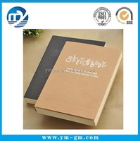 High quality custom printing wholesale cheap shaped a4 lined notepads/blank sketchbook