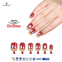 Fengshangmei brand easy design nail tips artificial cheap christmas nails