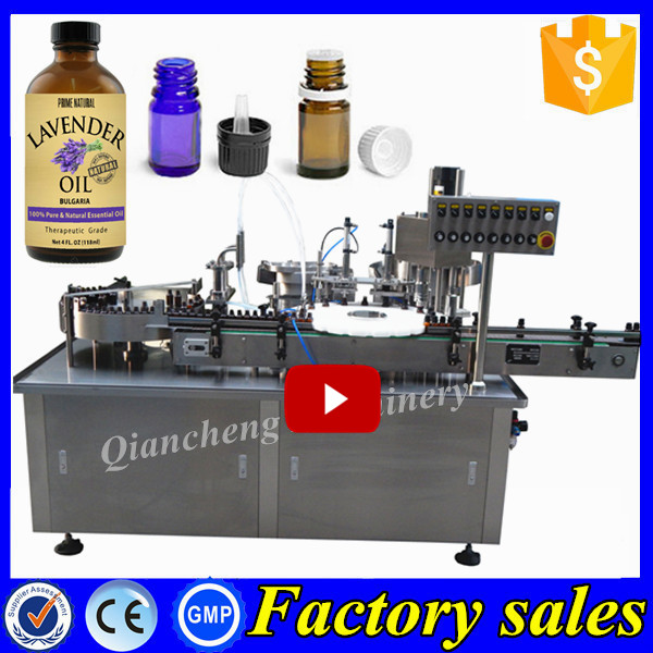 Factory Directly auto filling machine essential oil, injection vial