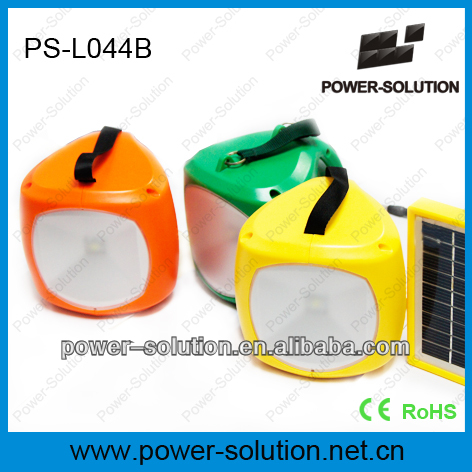 solar rechargeable LED lamp with cell phone charge solar lantern