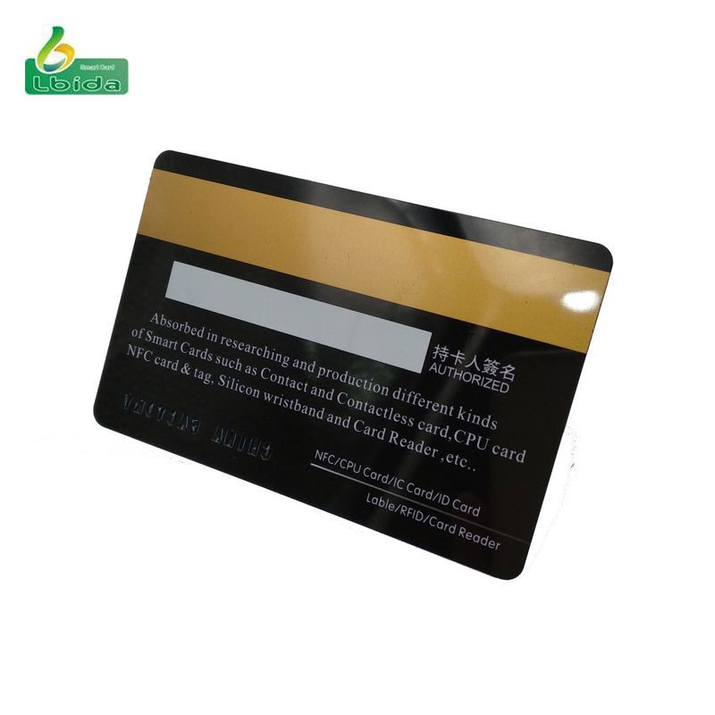 MIFARE HiCo 4K Non-Programmed Proximity Cards with High Coercivity Magnetic Stripe