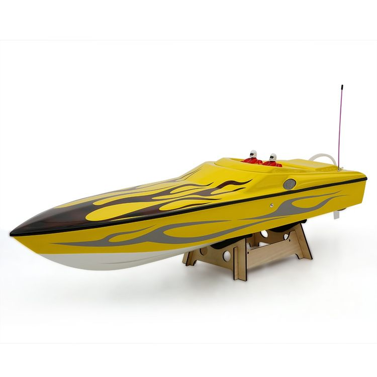 225bl026ap-Original Challenger 1300bp (Flame) Fs-Gt2 2.4G Transmitter High Speed 60km-H Electric RC Racing Boat