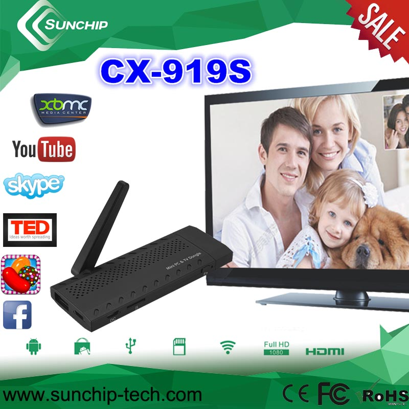 Android 4.2 1.8Ghz quad Core RK3188 TV Stick 2G RAM 8G ROM HDMI Wifi TV Dongle With Antenna