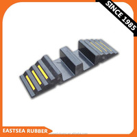 From Rubber Factory High Density Rubber 150MM Channel Driveway Hose Ramp