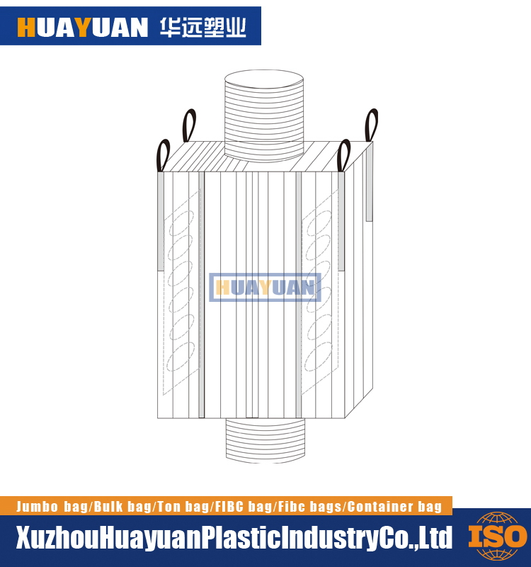Heavy duty pp Nice looking fibc bulk containers