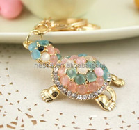 Shiny rhinestone keychain gift items from india NSKY-2971