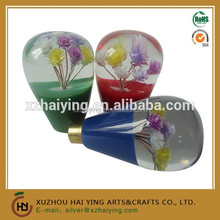SPECIAL COLORFUL FLOWER DESIGN CAR AUTO SHIFT KNOB GEAR SHIFTER