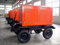 Global warranty 45kw trailer genset for sale