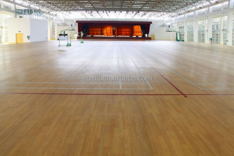 new material high quality pvc basketball sports court flooring for sale