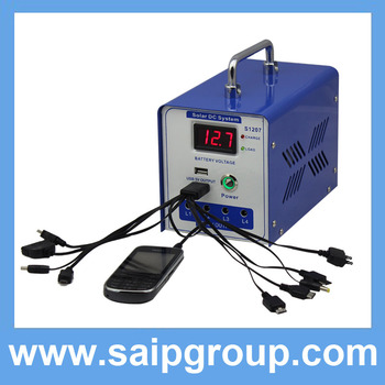 2014 Hot Sale High Quality Portable Mini Household Solar Power Generator