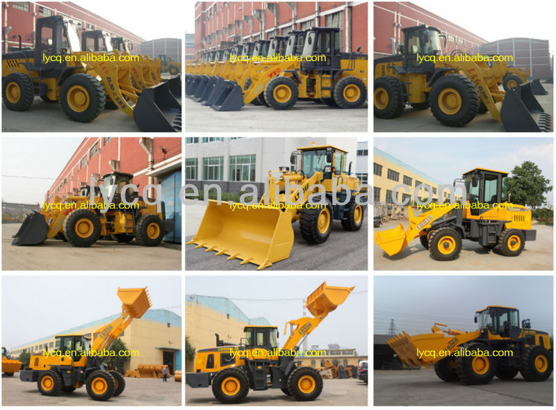 Sinomach good quality 6 tons 966 wheel loader for sale