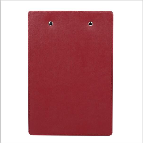 Wholesale customized A4 leather board writing pad