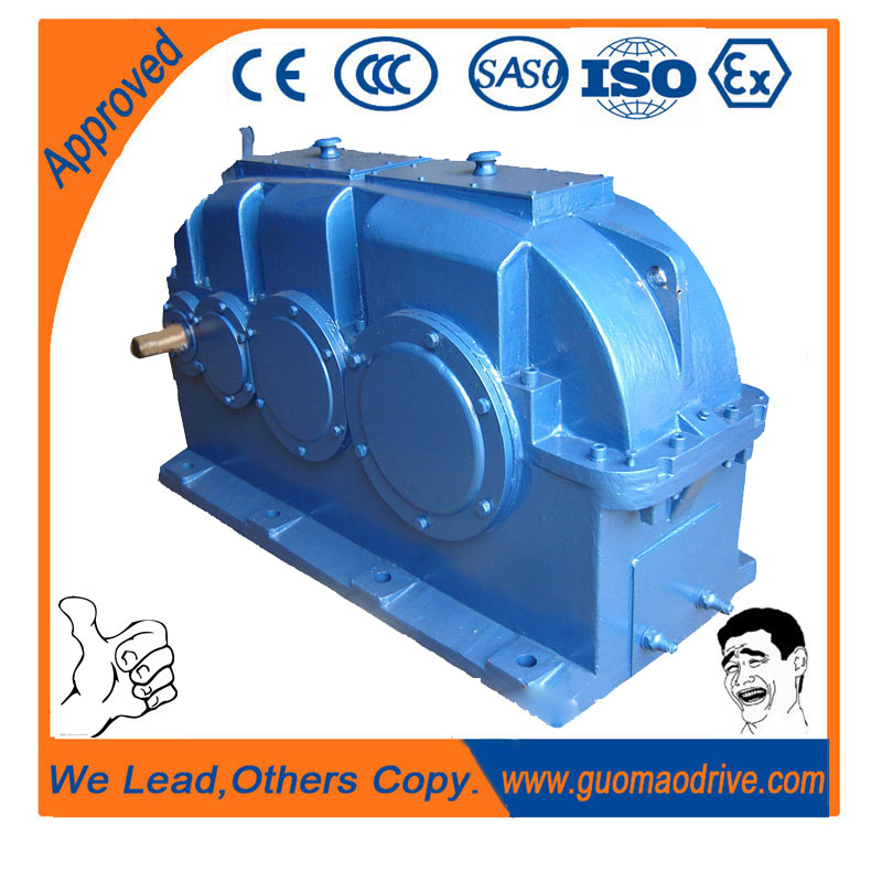 Large output torque ZSY helical gear reduction box for heavy duty