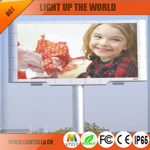 alibaba express new design Power Saving outdoor p10 video LED vision display screen for advertising
