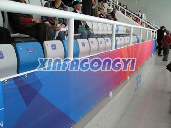 Hotsale indoor/outdoor silk fabric banner