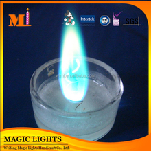 Color Flame Liquid Paraffin Candles Wholesale