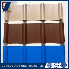New type metal roofing sheet details