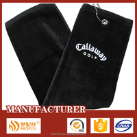 100% cotton custom golf towels embroidered