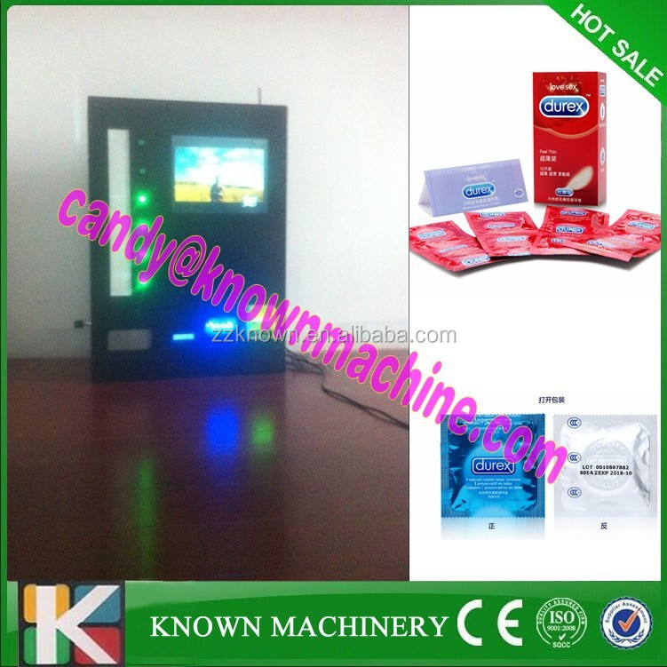 6 items with coin acceptor small electric vending machines