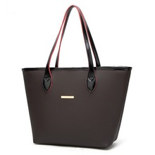 Fashion stylish designer ladies bags handbag, custom pu leather women tote bags