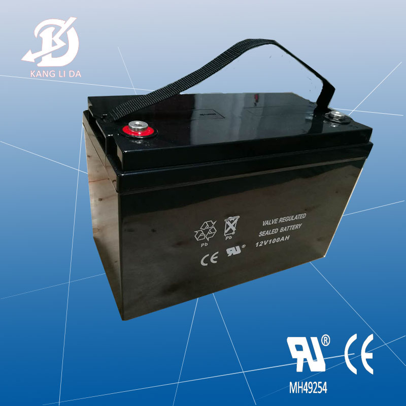 CE&UL certificate 12v storage battery, 12v 100ah deep cycle solar system battery