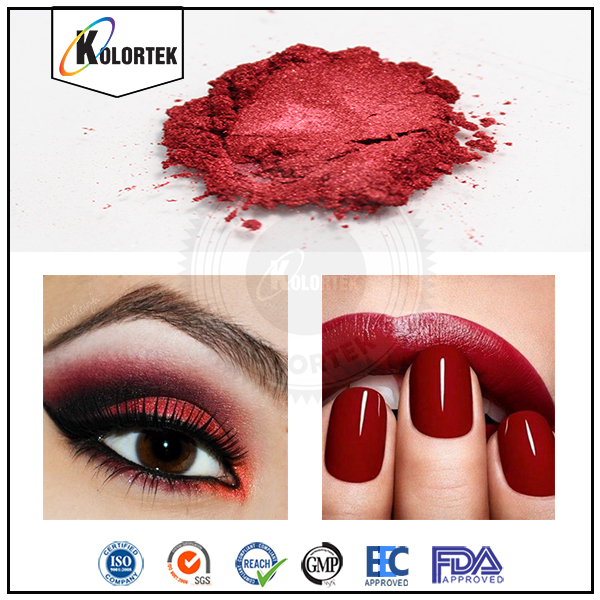 Intense Chroma Powder For Lipsticks, Red Lip Color Mica Pigments Made In China