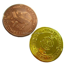 Copper souvenir coin