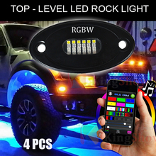 4PCS RGBW LED Rock JEEP ATV 4x4 Off-Road Truck Trail Fender Underbody Lights