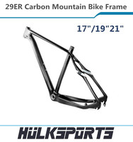 "Top quality 17""/19""/21"" mtb frames 29er super light BB30 mountain bike carbon fiber bicycle frame"