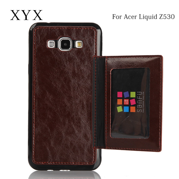 creative and popular mobile pu leather phone case cover for acer liquid x2 z520 z530