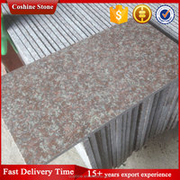 China manufacturer industrial granite polished peach red granite g687