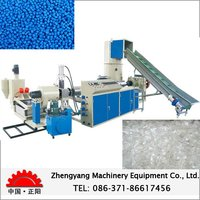 High Efficient Scrap PET Plastic Extruding Machine