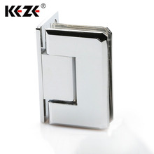 High Quality Brass L Shape Shower Glass Door Pivot Hinge
