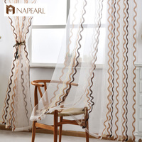 NAPEARL cheap sheer drapery cleaning net curtains