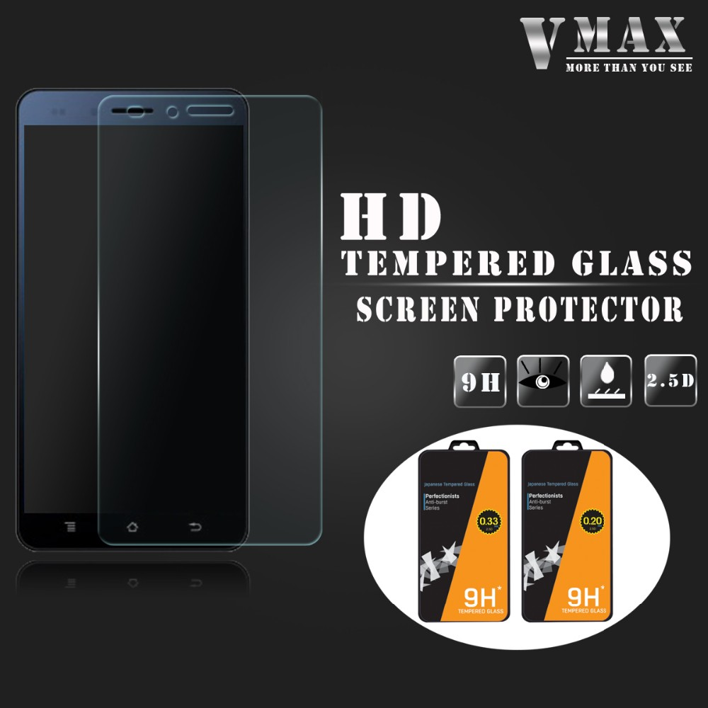 New coming weak-glue washable anti shock tempered glass screen protector for Amoi A920T