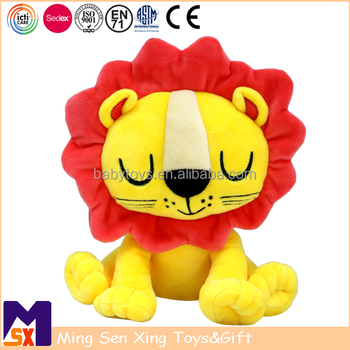 ICTI Audited Factory Customized Baby Stuffed Lion Toy