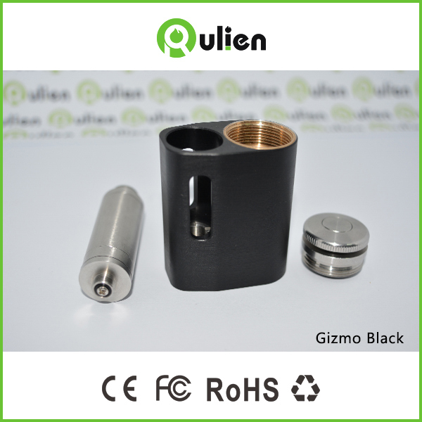 e cig mod 24mm Gizmo V2 box mod electronic enclosure for 18350 battery e cig Gizmo mod