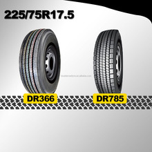 top selling import chinese bus tire sizes 225/75R17.5