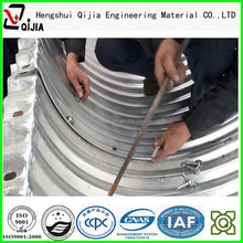 Din bellows prestressed elliptic corrugated culvert corrugated culvert pipe expansion joint bellows To report