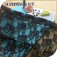 new design china fabric market wholesale lace nylon cording lace fabric