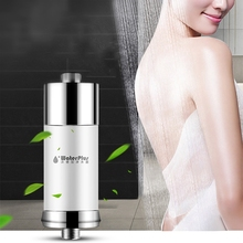 China New Product Stainless Steel Smart Household Bath Chlorine Bacteria Remove Shower Water Filter Purifier