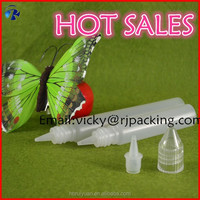 hot new product pe plastic 15ml pen shape bottle for e juice